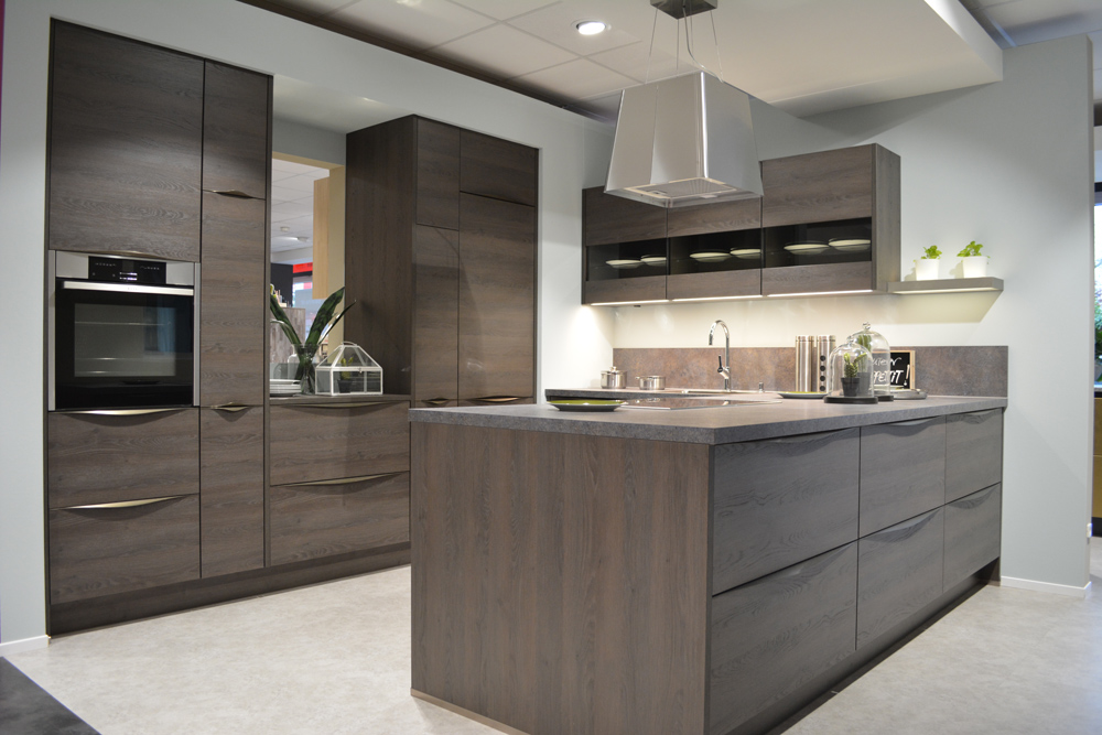 Nobilia küche front structura gladstone oak